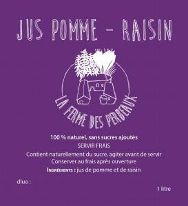 JusPOMME-RAISIN BON